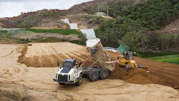 Earthworks for the $850 million Transmission Gully motorway have been underestimated by 4.1 million cubic metres.