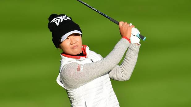 Georgia Hall makes flying start to storm-affected Evian Championship
