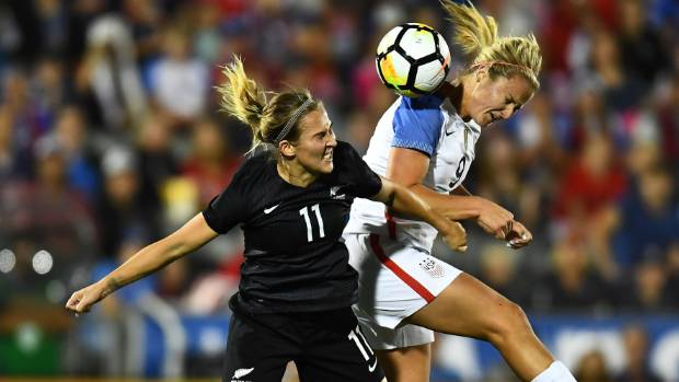 USA Women's Soccer Team Wins 3-1 vs. New Zealand Behind Julie Ertz's 2 Goals