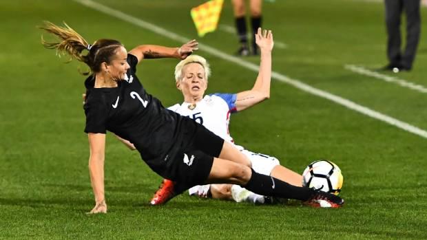 USA Women's Soccer Team Wins 3-1 vs. New Zealand Behind Julie Ertz's 2 Goals