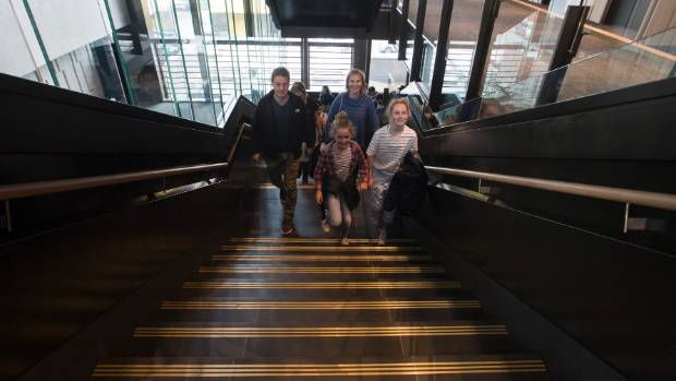 People of all ages visited the new justice and emergency services precinct on Sunday.