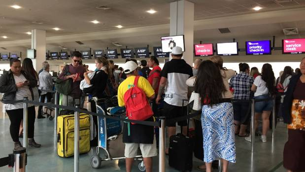 Air New Zealand expects 2,000 passengers a day may be affected for the next two weeks.