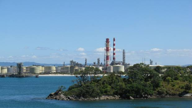 The leak is believed to have occurred around 8km south of Marsden Point Oil Refinery.