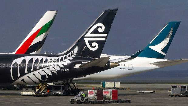 All airlines flying into and out of Auckland Airport have been affected by the jet fuel crisis.