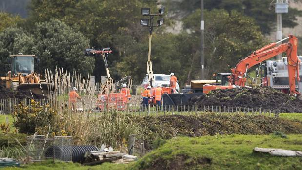The pipeline that channels oil and fuel from the Marsden Point refinery was breached on a farm near Ruakaka.