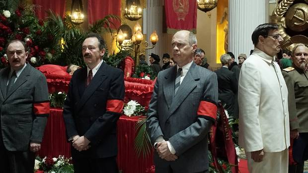 The Death of Stalin features a renowned comedic cast, but Russian authorities fear it could spark violent protests.