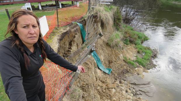 Eliza Rata from Te Rongoroa Marae is frustrated more can't be done to save their marae.