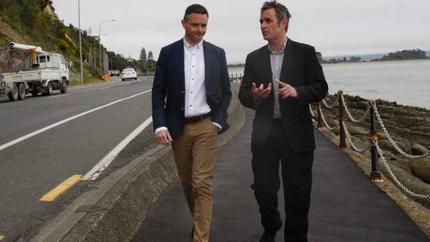 Green party pledges 23m to rocks rd cycleway project if for Landscaping rocks nelson