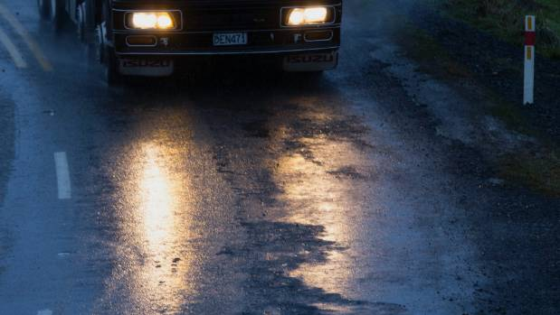 Dannevirke resident Sharon Senior is calling for motorists to drive more carefully on the windy route.