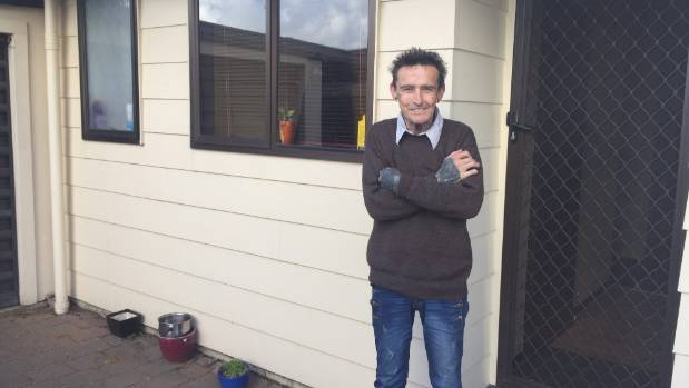 Peter Hughes wants a home, but says it's a struggle to find a cheap place to rent in Palmerston North.