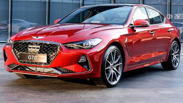 The new Genesis G70 luxury car.
