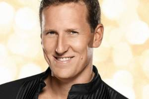 Kiwi ballroom dancer Brendan Cole appears on the BBC TV show, Strictly Come Dancing.