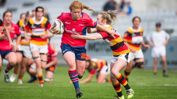 Tasman Women's rugby captain Jess Foster prefers to lead by example.