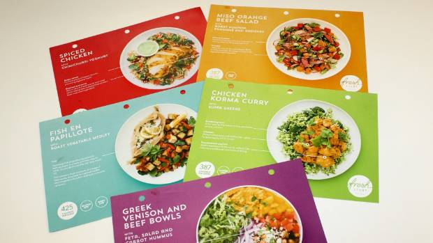 Diary of a kitchen novice stuff ingredients and five recipes cards arrived with the my food bag delivery forumfinder Images
