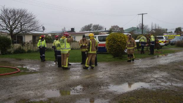 Fire crews from Timaru, Washdyke, Temuka, Pleasant Point and Clandeboye attended the fire.
