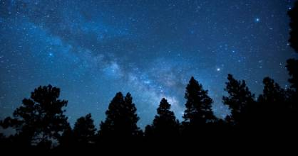 80 percent of North Americans live in areas where light pollution blots out the night sky.