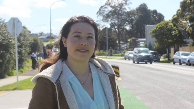 Paola Pinilla is looking forward to learning how to drive at the Puketāpapa community driving school.