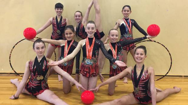Wentworth College gymnasts gain 14 medals this month.