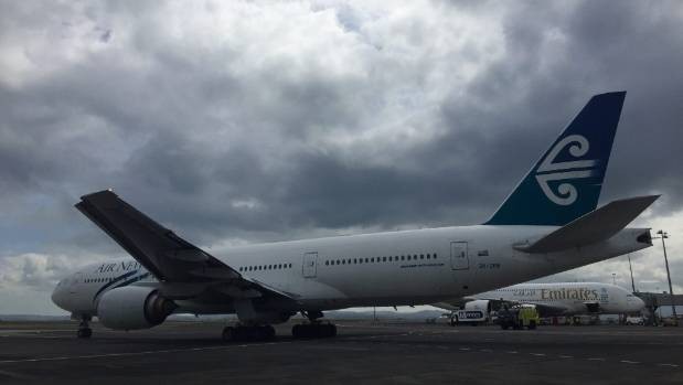 Emirates flight affected by New Zealand fuel crisis