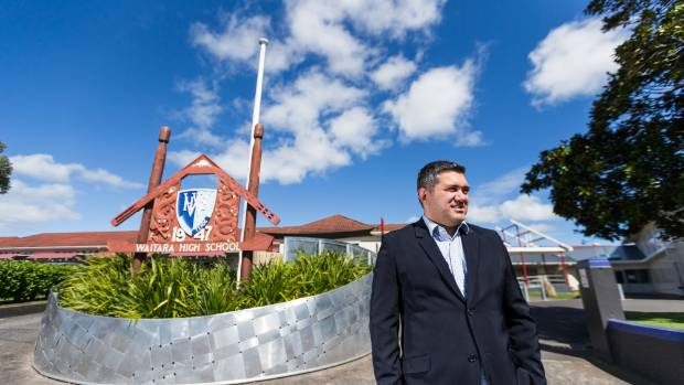 Waitara High School Principal Daryl Warburton says Princess St will be a vibrant community place in a couple of years.