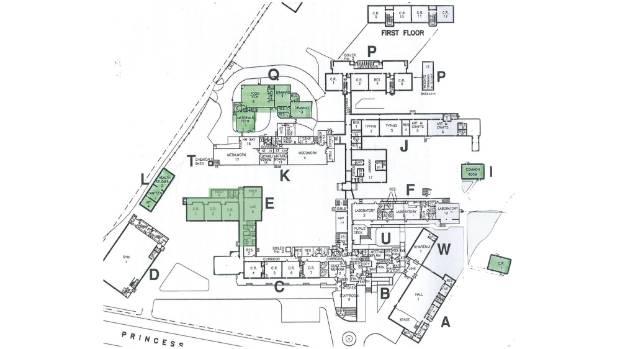 The current layout of Waitara High School.