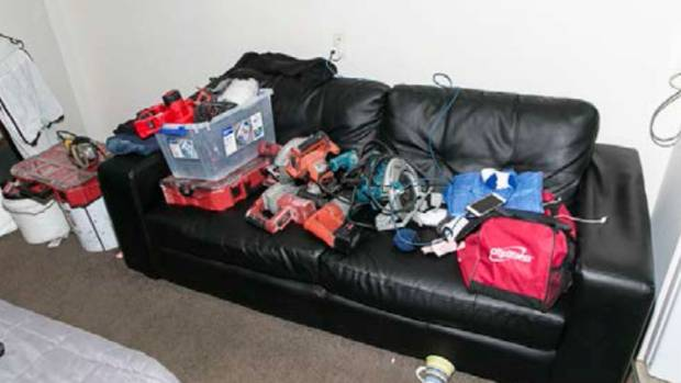 Police found tens of thousands of stolen items, including power tools, electronic equipment and jewellery, when they ...