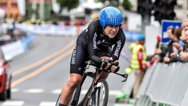 Van Vleuten captures world cycling time trial championship