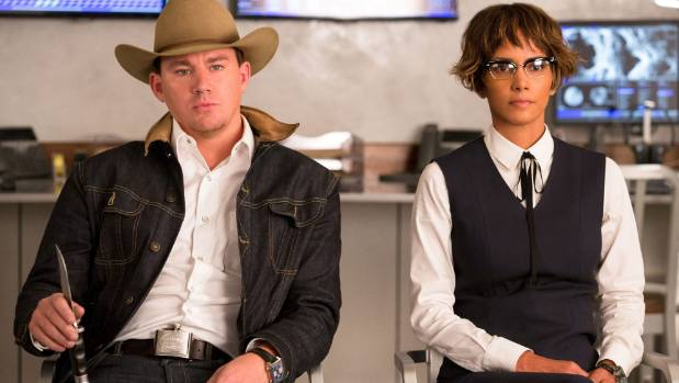 Channing Tatum and Halle Berry join the crew for Kingsman: The Golden Circle.