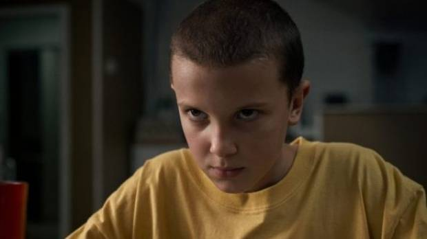 Millie Bobbie Brown plays Eleven in Netflix's hit drama Stranger Things.