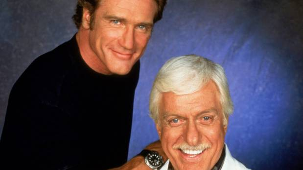 The best crime fighting due in daytime television: Steve and Mark Sloan, aka the Van Dyke boys.