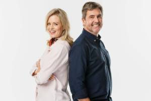 We're back - just when you thought you had seen the last of us. Shelley Ferguson and Peter Wolfkamp off The Block: Side ...
