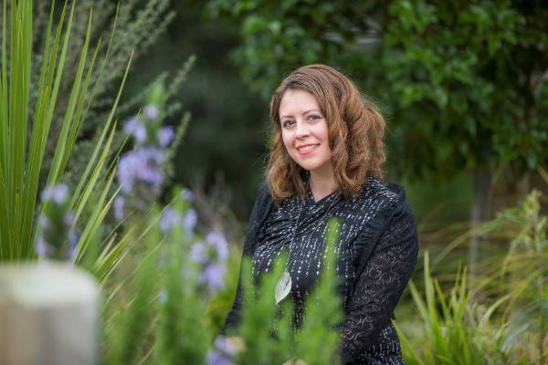 Andrea Reid has ambitious plan to create pollinator pathways connecting parks and reserves across Auckland city.