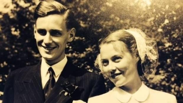 Pirkko Pauliina Kekalainen and Arthur Jones on their wedding day.