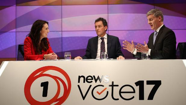 Mike Hosking hosted two leaders debates, which drew the largest audiences of this election.