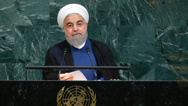 Iranian president: Trump's UN comments 'ignorant, absurd'