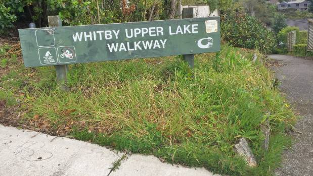 Whitby upper lake walkway at Exploration Way, where a child was followed before an attempt was made to abduct her in ...