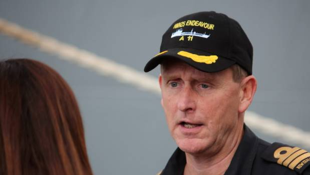 Commander Martin Doolan  said the company is contributing to their mission in the Navy by fulfilling New Zealand's ...