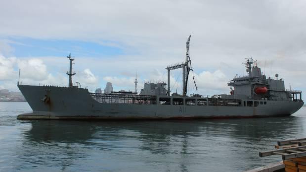 HMNZS Endeavour is the Navy's purpose built fleet replenishment tanker.