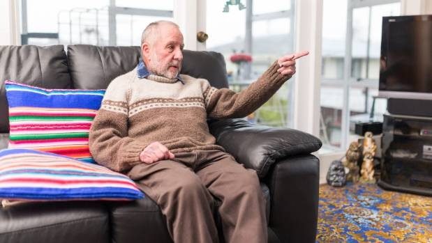 Inglewood pensioner Mike Webber is hoping the new government will curb spending.