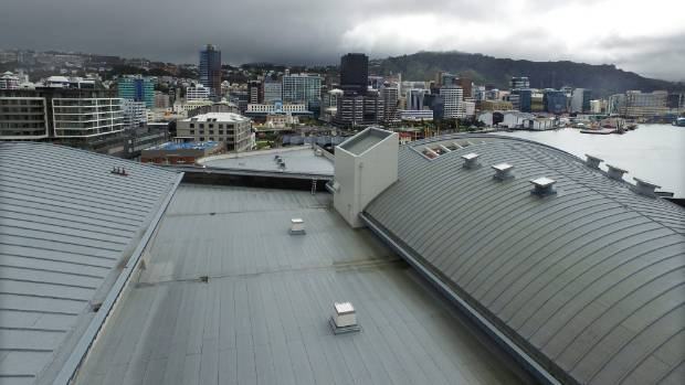 Well sited - so long as the sun shines. Te Papa plans to install what would be the country's largest solar farm on its roof.