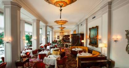 The Cipriani Restaurant at the Belmond Copacabana Palace Hotel.
