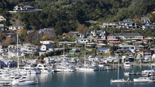 New capital values across Marlborough show a big increase for Picton properties. (File pic)