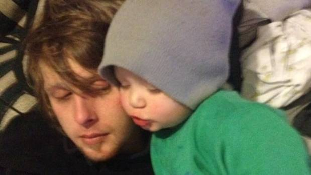 Shand Cotgrove, and his son, Tyler. Shand died tragically in a crash in Levin on July 30.