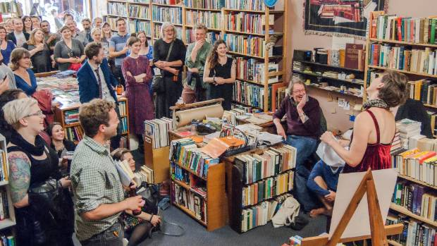 Rejectamenta at Ferret Bookshop during LitCrawl 2014