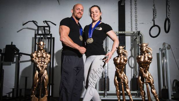 Taranaki couple Brendon Lawrence and Nikayla Baker have pushed each other to the heights of body building, both coming ...