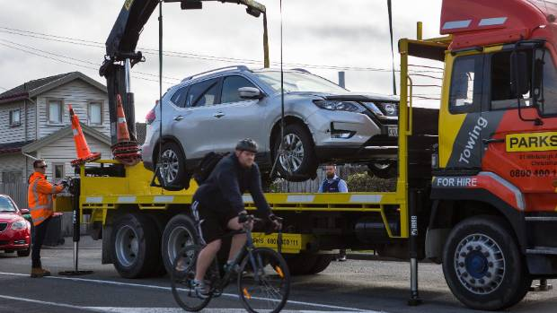 Police found the Nissan X-Trail  on Wednesday afternoon in suburban Christchurch.