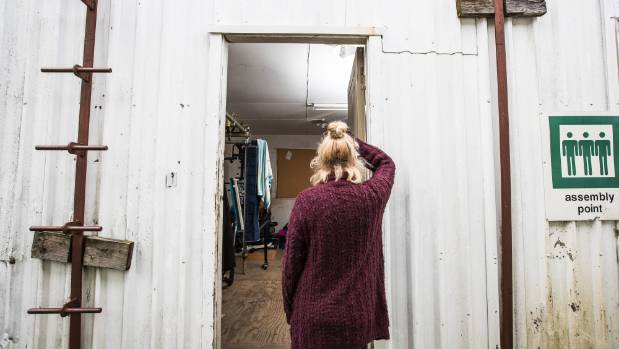 Cath has been looking for somewhere to live, and is forced to live in a shed with no windows until something better ...