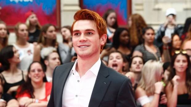 Actor KJ Apa has reportedly been involved in a crash.