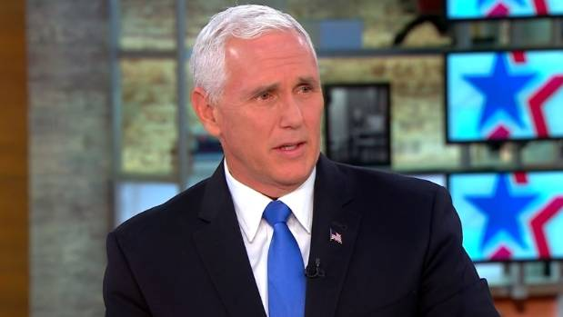 US vice-president Mike Pence is said to have plotted to replace Donald Trump on the Republican presidential ticket