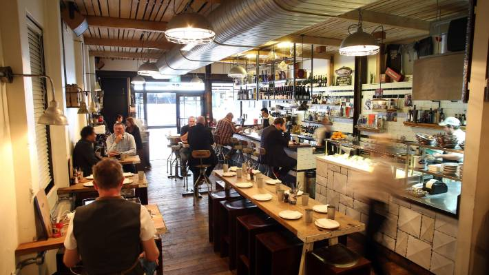 Al Brown's Depot Eatery, a popular mainstay of Auckland's food scene.